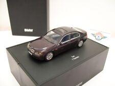 BMW 7er (E65), 2001, purplemetallic, BMW-Dealer (Minichamps) 1:43