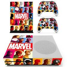 Xbox one S Slim Console Controllers Skin Marvel Comic Family Vinyl Decal Sticker