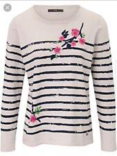 Ladies Top Brax Feel Good long sleeve top SIZE 36 UK SIZE 10
