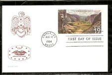 US SC # UX176 Canyon De Chelly FDC. Americana Unit ATA/APS Cachet