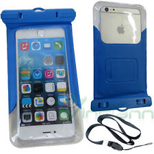 2in1 custodia impermeabile+armband fascia per iPhone 6 6S mare piscina CC1