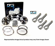 CP SC8473 Extreme Duty PISTON & CARRILLO XD ROD KIT FOR 2JZ GTE 2JZGTE Supra