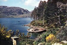 Loch Ewe from Inverewe Garden : photo by Dr. JM Cowan: card ref 3847