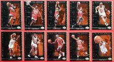 1999-00 UD MICHAEL JORDAN 10-CARD NBA LEGENDS THE BEST INSERT SET BULLS