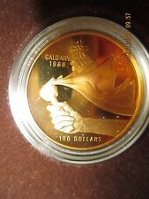 CANADIAN 1987 $100.00 ELIZABETH II GOLD COIN