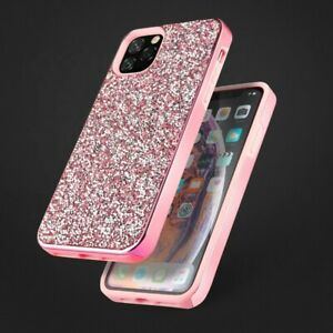 Bling Diamond Case Glitzer Diamant Kristall Cover Schutz Hülle iPhone 12 Modelle