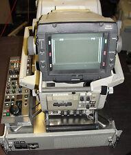 Sony HDC-900 1080p studio fiber camera chain with RCP720 HDCU900 HDVF700A