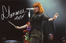 FLORENCE AND THE MACHINE WELCH AUTOGRAPH SIGNED PP PHOTO POSTER