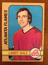 1972/73 Topps Hockey Card #44 Larry Hale Atlanta Flames EX
