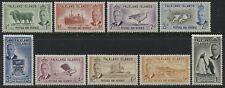 Falkland Islands KGVI 1952 set to 1/ mint o.g.