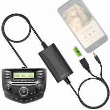 Car USB Aux-in Adapter MP3 Player Radio Interface for Honda Accord Civic Odyssey