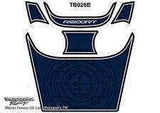 BMW R1200RT 2005 - 2013 Blue Motorcycle Tank Pad Motografix 3D Gel Protector