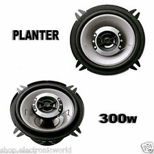 COPPIA ALTOPARLANTI AUDIO CASSE AUTO DA 13CM 300W PLANTER SUONO HD 130mm 2 vie