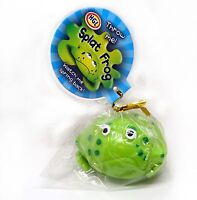 2 x Splat Frog Window Throw Squashy Spring Reform Back Sensory Pocket Money Toy