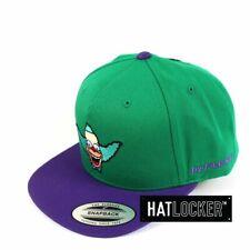 Flexfit - The Simpsons Krusty Head Green Purple Snapback