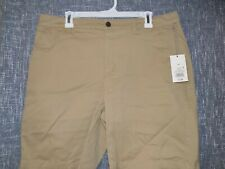 """A New Day Women's Size 14 Chino Shorts 9"""" Inseam 541347/Tan Target Brands Khakis"""