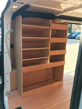 Citroen Dispatch L2 MWB Plywood Van Shelving Racking System Case Storage Unit