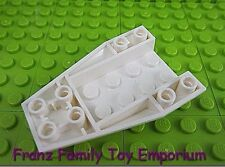 New LEGO White 6x4 WEDGE Inverted Curved City Star Wars Ninjago Part 43713