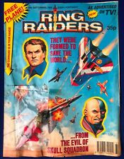 RING RAIDERS TV COMIC 1989 WITH FREE GIFT RARE FIRST ISSUE