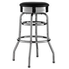 Barhocker Schwarz American Diner Bar Barstuhl 50er Retro Stuhl US Style Neu