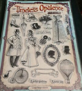 The Timeless Opulence Collection Clear Stamps
