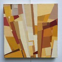 """FOUGERAND.L _"""" sans titre """" Huile sur toile de 2017 _ 29 cm x 29 cm"""