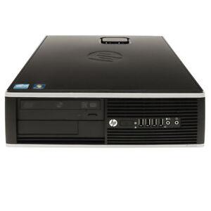 HP 6200 Desktop PC Computer Intel Pentium G620 2.6GHz 4GB RAM 500 GB HDD WIN7PRO