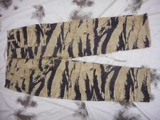 G RAGS 72 US ARMY UTILITY trousers VIETNAM WAR golden sparse TIGER STRIPE CAMO