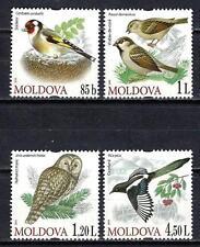 Moldavie 2010 oiseaux Yvert n° 611 à 614 neuf ** 1er choix