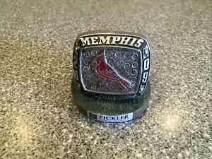 Pickler Advertising Memphis Redbirds 2009 PCL Champion Ring Statue