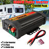 6000W Car Solar Power Inverter DC12V To AC110V Converter Dual USB Charger Ports