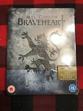 Braveheart Blu-ray Steelbook Uk Still Sealed Mel Gibson Region Free