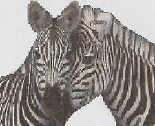 Zebra Counted Cross Stitch Kit