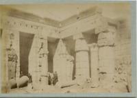 Egypte Vintage albumen print, Egypt Tirage albuminé  11x16  Circa 1875