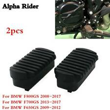 Motorcycle Front Footpeg Plate Footrest Rubber for Bmw F800Gs 08-17/ F700Gs F650