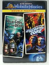 War-Gods of the Deep/At the Earths Core,Dvd,Free Ship in Box