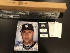 Derek Jeter Louisville Slugger Game P72 2,722 Hits 911 2009 Baseball Bat Yankees