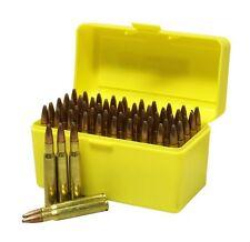 NEW Plastic Rifle Ammunition Box - 50 Rounds - 270, 30-06, 25-06etc Ammo Storage