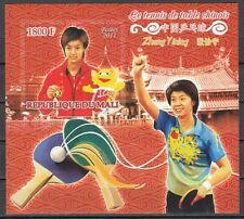Mali, 2011 issue. Chinese Women`s Table Tennis, IMPERF s/sheet.