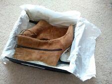 Clarks Women's Miriam Tan Suede Boots UK Size 5.5