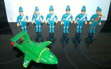 Gerry Anderson Matchbox Thunderbirds Action Figures & Thunderbird 2 die cast