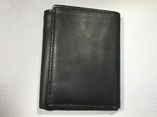 Joseph Abboud Men's Leather Wallet. Black. New.