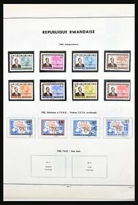 Lot 30805 Collection stamps of Rwanda 1962-1987.