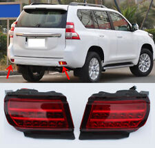 For Toyota Land Cruiser Prado 2010-18 LED Smoked Pair Rear Fog Light Tail Lamp
