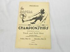 MASCAA, 17TH ANNUAL TRACK & FIELD MEET PROGRAM, HAVERFORD COLLEGE, MAY 24, 1929