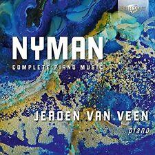 Nyman: Complete Piano Music, Jeroen van Veen CD | 5028421951126 | New