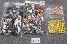 LEGO® - 0,3 kg - Auction - Minifig-Parts - A-131 - 100 Figuren ohne Haare, querb
