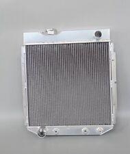 JDN 3 ROWS FIT 64-65 FORD RANCHERO V8 ALUMINUM RADIATOR