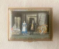 Rare Halcyon Days Enamel Opera Music Box Ltd. Edition Marriage Of Figaro Mozart