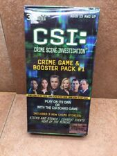 CSI  Crime Scene Investigation Game And Booster Pack  One